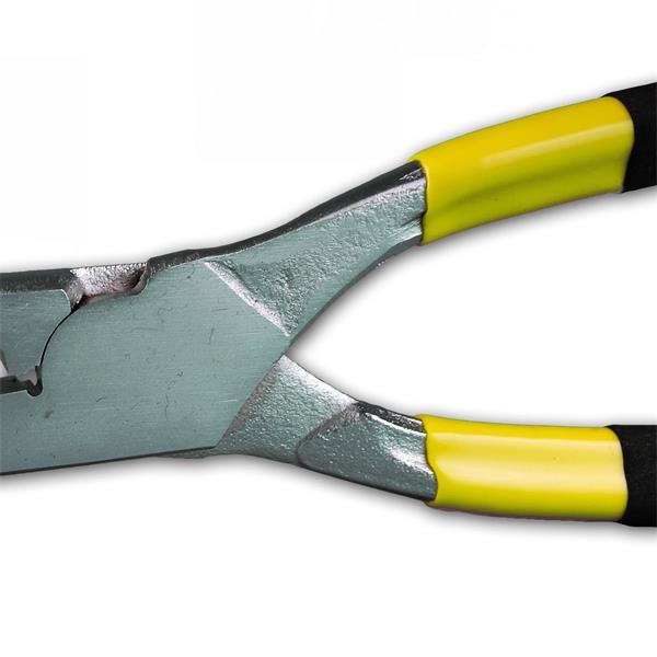 Crimpzange mit ergonomisch geformtenAnti Rutsch Griff