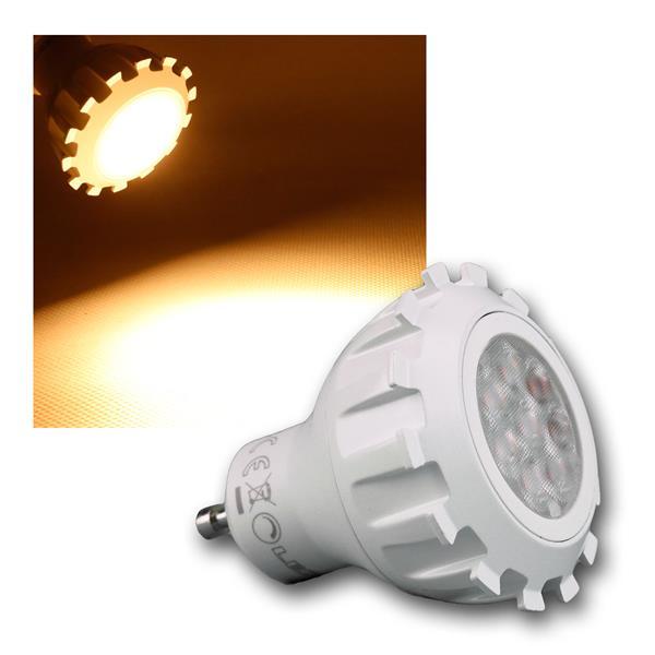 Strahler GU10 8W 430lm DIMMBAR COB LED warm weiß