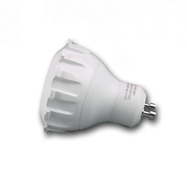 dimmbarer GU10 LED Spot für 230V mit dem Maß 50x56mm (øxL) ähnlich 50W Halogenlampen