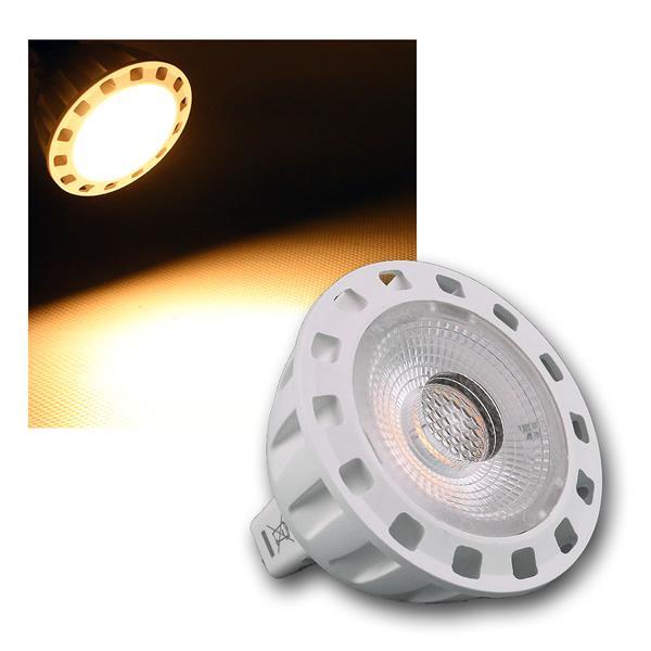 MR16 COB LED Leuchtmittel 6W/12V warm weiß 345lm 60° nicht dimmbar