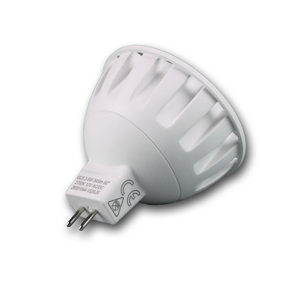 MR16 LED Energiesparleuchte mit Abstrahlwinkel 60°