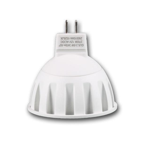 LED Spot 12V AC/DC Sockel MR16 GU5.3 mit nur ca. 6W Verbrauch