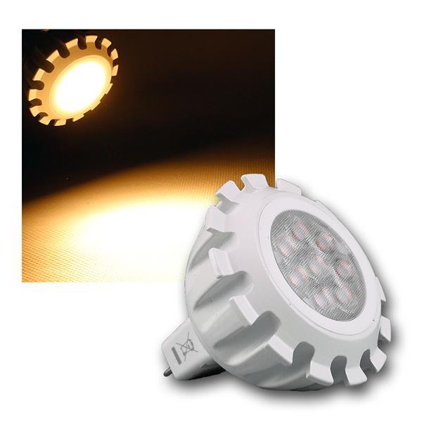 MR16 COB LED Leuchtmittel 8W/12V warm weiß 430lm 60° dimmbar