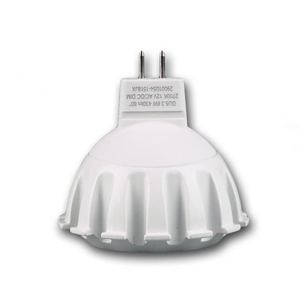 COB LED Strahler dimmbar 12V AC/DC  mit Sockel MR16 GU5.3