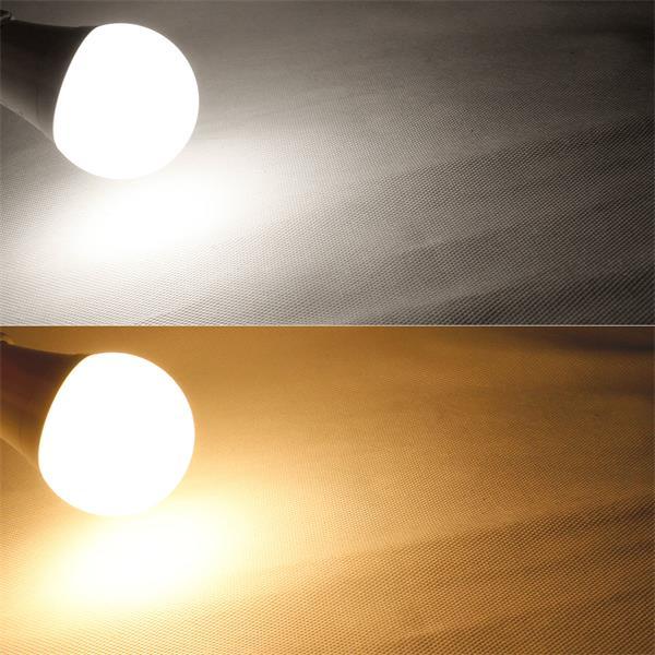LED Leuchtmittel dimmbar mit Farbwahl warm weiß oder neutral weiß