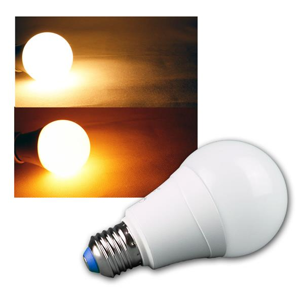 LED-Lampe A66 10W E27 Dual Color relax 800lm