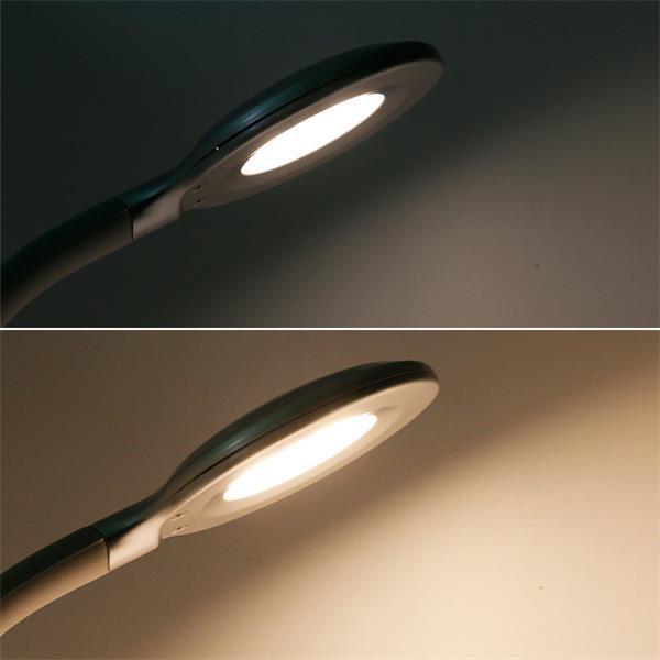 LED Tischlampe dimmbar mit Einstellung des Helligkeitswertes