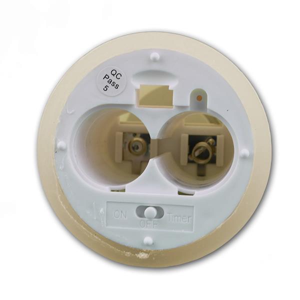 LED Kerze für Batteriebetrieb mit 2x LR14 Batterien