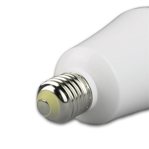 energiesparende LED Lampe mit Sockel E27 für 230V