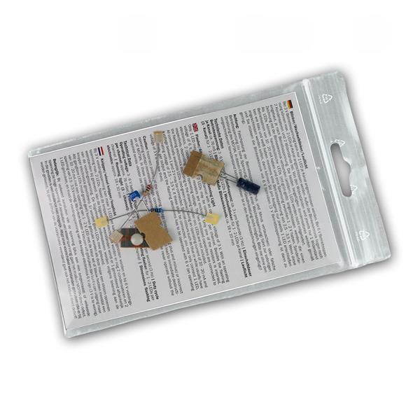 Blinker/Wechselblinker/Lauflicht Bausatz, 1-6 LEDs