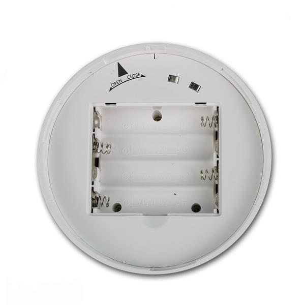 Ein/Ausschalter am Leuchtenboden batteriebetrieben, 4x AAA Batterien