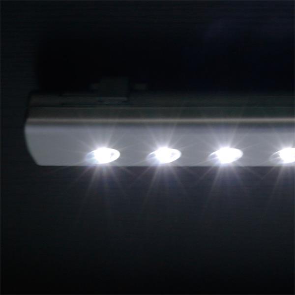 LED Batterie Unterbauleuchte mit 6 weißen LEDs