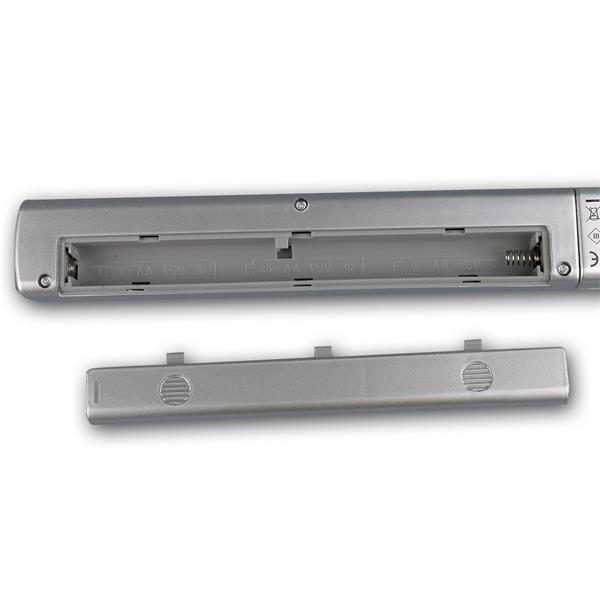 LED Unterbauleuchte wird mit 3 AA Batterien betrieben
