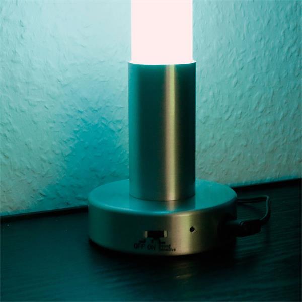 LED Deko Leuchte mit Farbwechsel durch Soundmodul