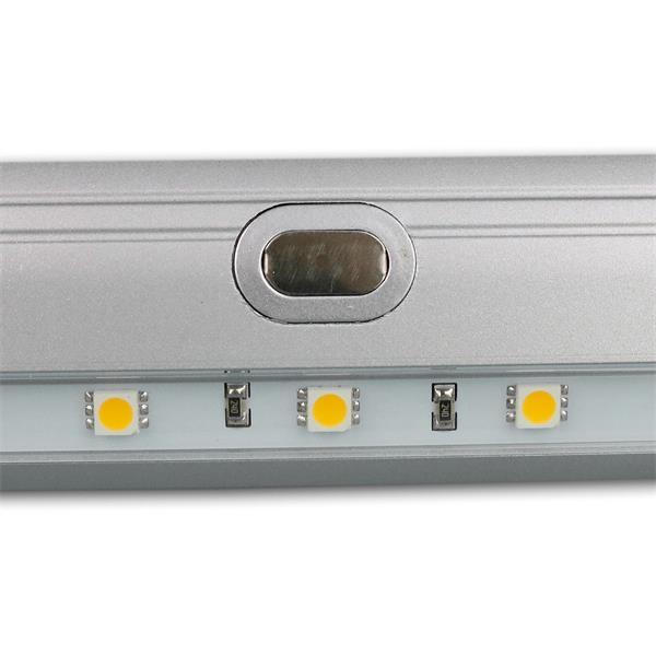 LED Unterbauleuchte mit Touch-Schalter in der Mitte der Leuchte