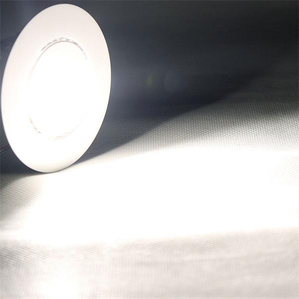 Set LED Einbaustrahler mit neutral weißer Lichtfarbe