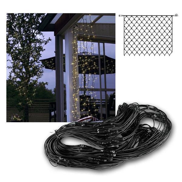System Decor Lichternetz 100 LED warmweiß 2x1,5m