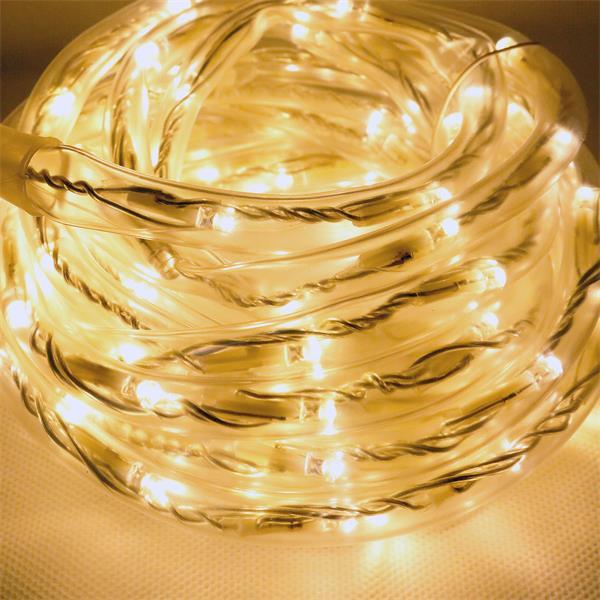 System Decor Lichtschlauch verzaubert mit warm weißem Licht