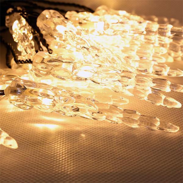 System Decor Eiszapfen verzaubert mit warm weißem Licht