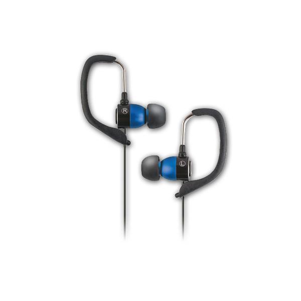 Sport Music Headset Kopfhöhrer, blau, 3,5mm