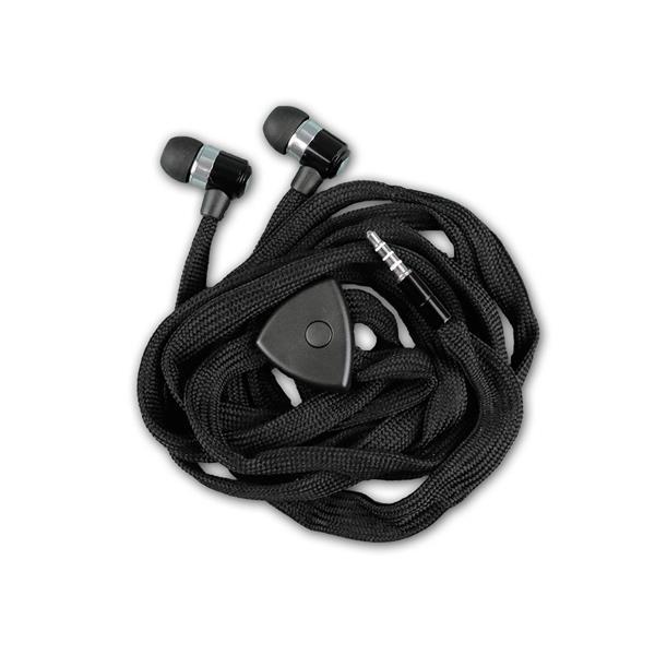 Kabel des Kopfhörers im Schnürsenkel Design