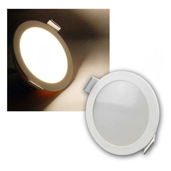 LED Panel CP-90R, Ø90mm, IP54, 420lm daylight, 5W