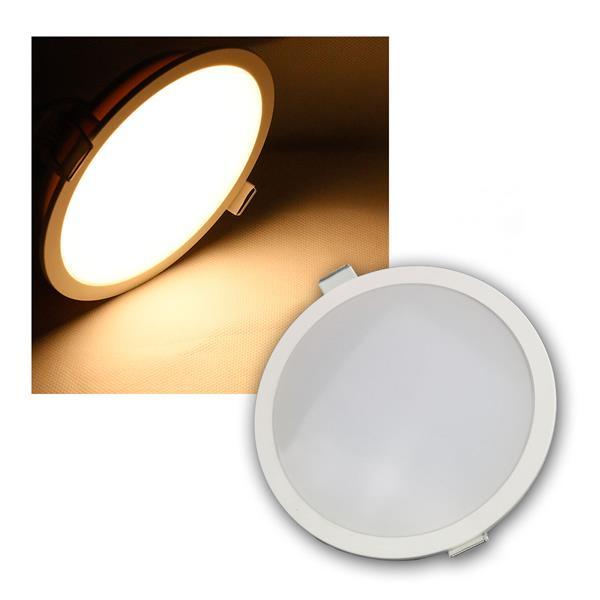 LED Panel CP-150R, Ø150mm IP54, 800lm warmweiß 10W