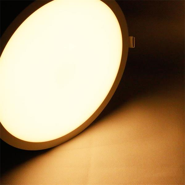 LED Panel CP-225R mit Farbtemperatur von ca. 2500-3500K