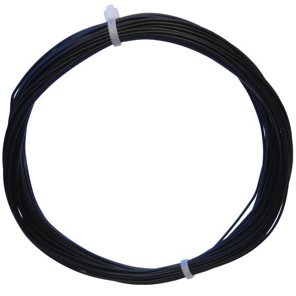 10m Litze flexibel schwarz 0,14mm² - Ø1,1mm