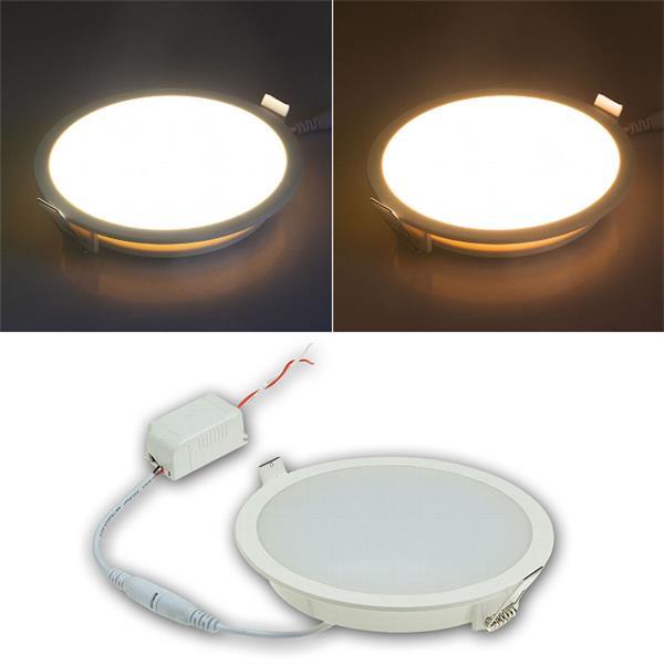 """230V-LED Panels der """"CP-Serie"""" mit 5, 10 oder 18W und IP54"""