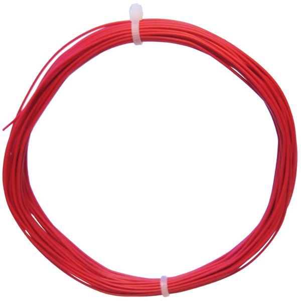 10m Litze flexibel rot 0,14mm² - Ø1,1mm