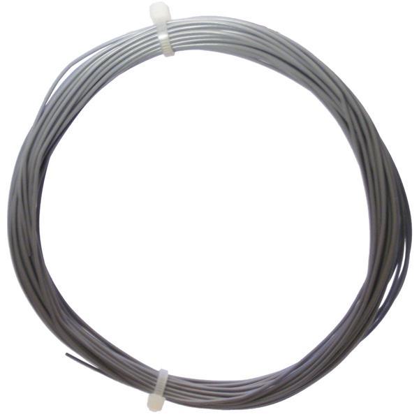10m Litze flexibel grau 0,14mm² - Ø1,1mm