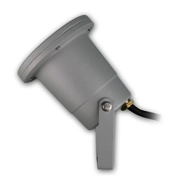 Außenstrahler IP44, neigbar bei Befestigung mit Haltebügel
