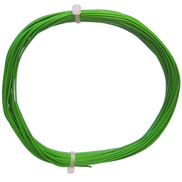 10m Litze flexibel grün 0,14mm² - Ø1,1mm