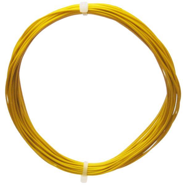 10m Litze flexibel gelb 0,14mm² - Ø1,1mm