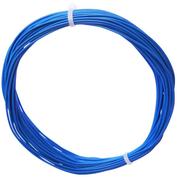 10m Litze flexibel blau 0,25mm² - Ø1,3mm