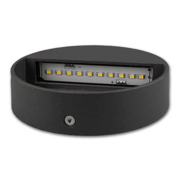 Ausleuchtung mit 10 SMD LEDs ohne Blendeffekt