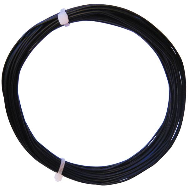 10m Litze flexibel schwarz 0,25mm² - Ø1,3mm