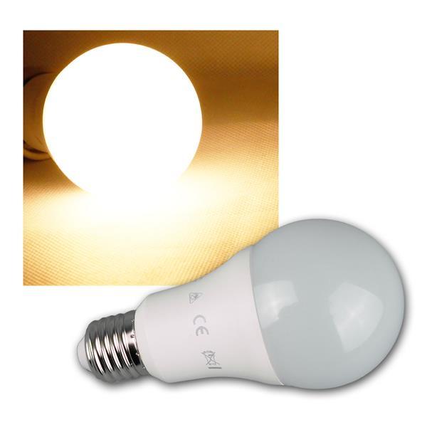 LED Glühlampe E27 warm weiß 1320lm 230V 15W
