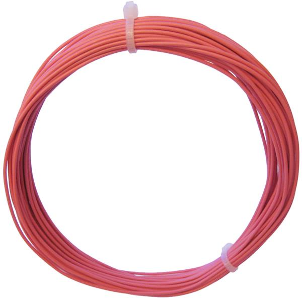 10m Litze flexibel rosa 0,25mm² - Ø1,3mm