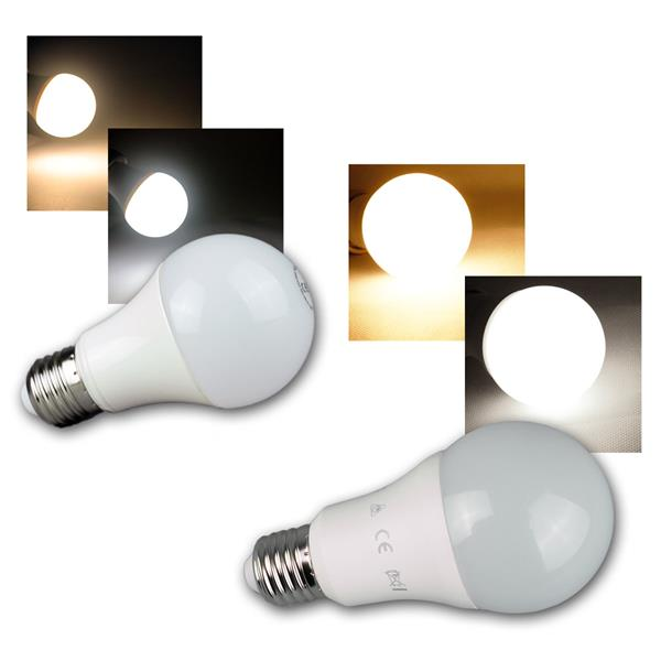 LED Glühlampe E27 G40/50/70/90, 5/7/10/15W, 230V