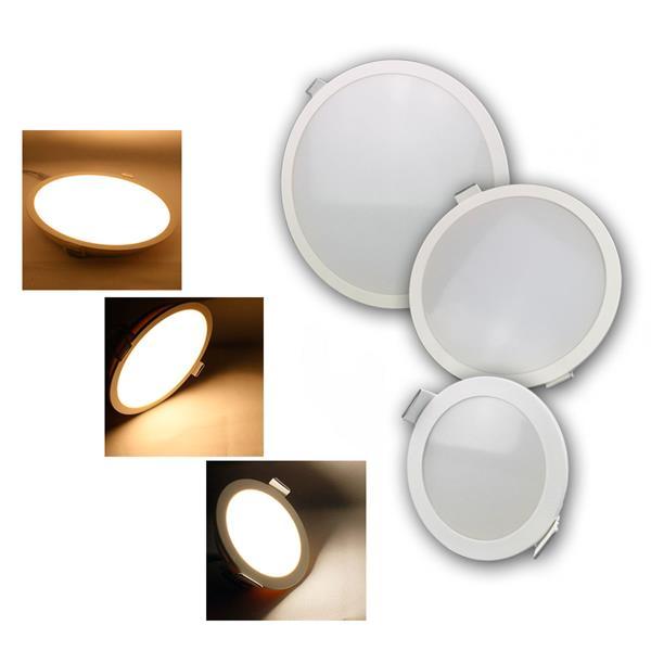 LED Panels CP-Serie ChiliTec, IP54, rund, 3 Größen