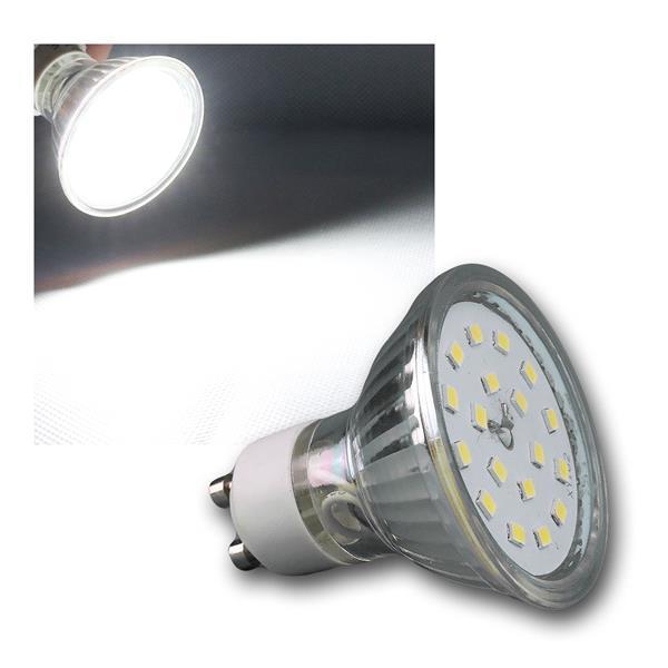 GU10 Strahler 4,5W/230V kaltweiß SMD LED 430lm