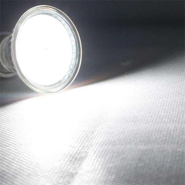GU10 LED Leuchtmittel mit der Leuchtfarbe kalt weiß