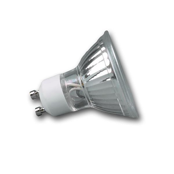 LED Energiesparlampe GU10 mit Abstrahlwinkel 120°