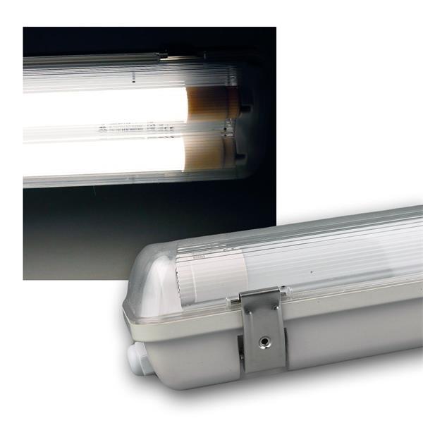 LED Feuchtraum Wannenleuchte IP65 4800lm 48W 1,5m