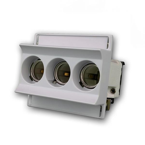 Sicherungssockel Neozed 3x63A für Hutschiene 3-polig