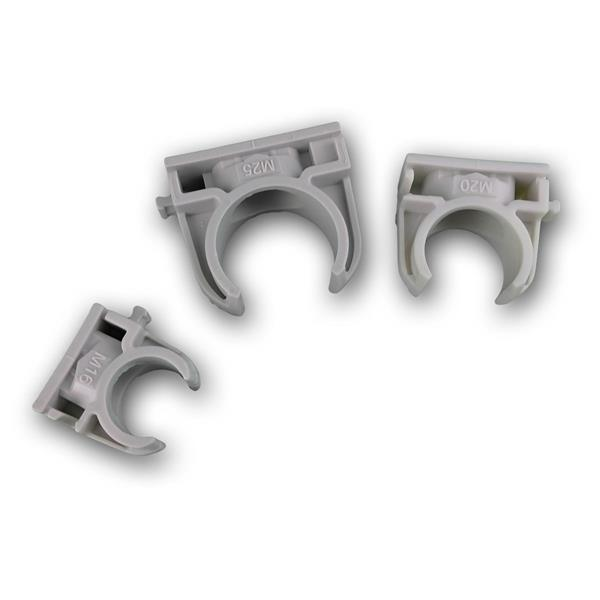 Iso-fix Schnappschellen in den Größen M16, M20 oder M25
