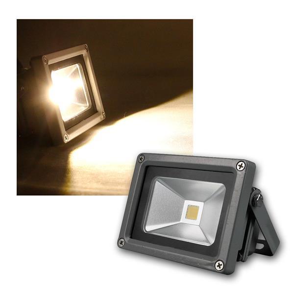 LED Flutlichtstrahler 10W 230V warmweiß 760lm IP44
