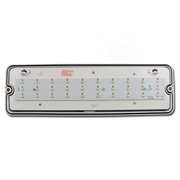 Rettungslicht leuchtet auch mit Dauerlichtfunktion bei Stromanschluss
